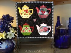A Quilt and A Prayer: Fun with Dots on Dots!!!  (A Craftsy Pattern.) x