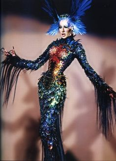 Detox, wearing this dress by Thierry Mugler… one of his fave designers! ...  justjules.wordpress.com