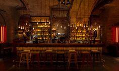roy zsidai transforms ruin pub in budapest into spiler shanghai bistro Cafe Bistro, Cafe Bar, Cafe Restaurant, Restaurant Design, Budapest Ruin Bar, Social Bar, Underground Bar, Secret Bar, Lion