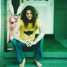 Allen Collins and the Easter Bunny! Great Bands, Cool Bands, Lynard Skynard, Allen Collins, Guitar Picks, Cassie, Lineup, Rock N Roll, Celtic