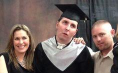 Success! Mother's Wish Comes True, Mel Walks at Graduation