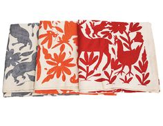 Mexican bedspreads- Make the perfect table cloths