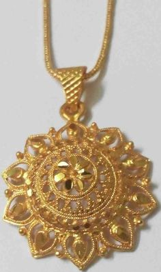 Details about Yellow Thai Baht Gold Plated Pendant Indian Necklace Rope Chain - Mens Gold Jewelry, Clean Gold Jewelry, Gold Jewellery Design, Silver Jewelry, Designer Jewellery, Body Jewellery, Handmade Jewellery, Tribal Jewelry, Designer Wear