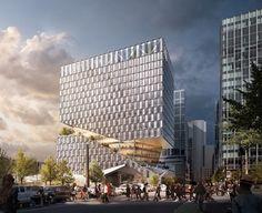 Galería de OMA presenta '88 Seaport', un nuevo proyecto mixto en Boston - 1