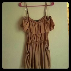 Romper New condition no stains or rips. Love Culture Shorts