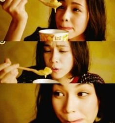 How can someone look so cute while eating?! I don't know, but Kiko does it.