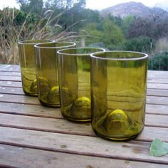 DIY wine glass tumblers