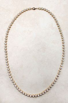 Gold Crystal Tiffany Necklace on Emma Stine Limited