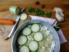 Гратен из сныти с овощами