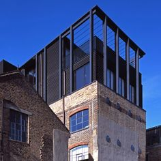 Simon Conder Associates drops a prefabricated home onto a former warehouse at London Fields Photos Paul Smoothy A two-storey building, designed by Simon Conder Associates, has been added above a three-storey Victorian warehouse in London Fields, east London. The extension, providing a home for the designers who own and work in