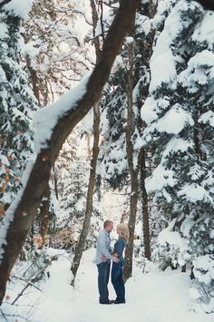 Winter engagements || engagement session || Utah photographer || Utah weddings || Utah wedding photography www.ashleebrooke.com