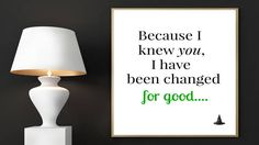 Wicked Digital Print, Because I Knew You, I Have Been Changed For Good, Broadway print, Wicked Poster, Wicked Lyrics, Broadway Musical by EducationalArtPrints on Etsy