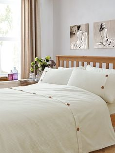 Waffle Duvet Cover and Pillowcase Set in Single 8ade7dd38