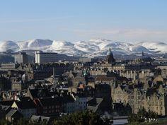 Beautiful, amazing Edinburgh, Scotland