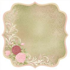 Kaisercraft - English Rose Collection - 12 x 12 Die Cut Paper - Muriel at Scrapbook.com