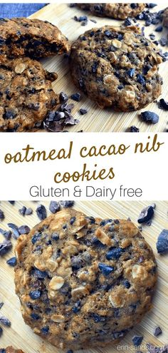 Helpful Cacao Techniques For cacao nibs recipes Best Gluten Free Recipes, Gluten Free Snacks, Gluten Free Cookies, Healthy Cookies, Healthy Sweets, Real Food Recipes, Baking Recipes, Cookie Recipes, Dessert Recipes