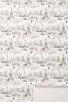 C'est Magnifique Wallpaper - anthropologie.com