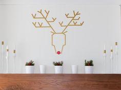 Toutes nos idées pour décorer un mur avec du masking tape