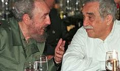 Long-time friends Fidel Castro and Gabriel García Márquez. The conversations these both thinkers and brilliant minds must have had over the years...