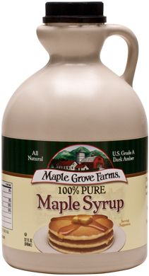 """Maple Grove Farms 100% Pure Maple Syrup  #CooksIllustrated Taste Test Winner """"Recommended""""  #TasteTestTriumphs"""
