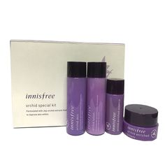 Innisfree Sample Orchid Skin Care Special Kit 4 Item (Skin/lotion/Cream/Essence) #innisfree