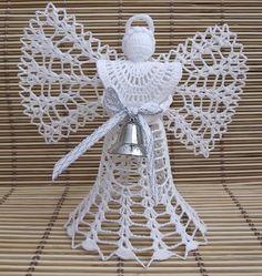 háčkovaný anděl