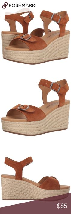53b9105f63 ✨NWOT✨ Lucky brand Naveah espadrille wedge Sandal New without tag! Size 9.5  color