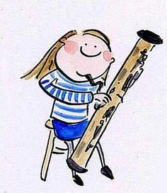 Bassoon Player Basson, Blue Angels, Music Instruments, Cartoon, Memes, Fun, Fictional Characters, Logo, Pictures
