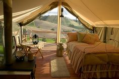 Glamping is glamorous camping. Here are some great images of glamping I ...    inspirednesting.com