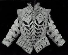 16th century peascod doublet with slashing.
