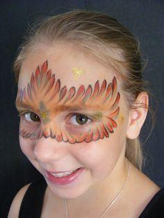 VEGAN FACES CARNIVAL FACE PAINT STACK  With thanks to Inge Schminkt: www.IngeSchminkt.nl
