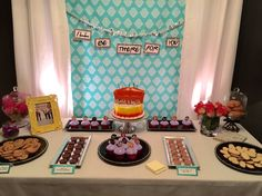 FoRoIoEoNoDoS Theme Birthday Party Dessert Table