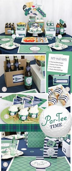 Golf Party Ideas - Baby Shower, Birthday Party and Retirement Party Ideas