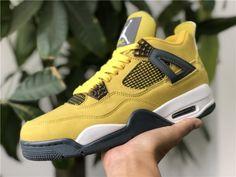 "quite nice b1cc6 388be 2018 Cheap Air Jordan 4 ""Lightning"" Basketball Shoes For Sale   Jordan  Release Dates"