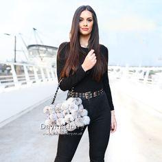 £44.00 #ootd #fur #bag #furbag #slides #slippers #furslides #furslippers #womenswear #womenfashion #womenstyle #ladyfashion #ladystyle #ladyoutfit #accessory #boutique #fashionboutique #streetfashion #gift #giftforher #rabbitfur Fur Bag, Ootd, Fur Pom Pom, Rabbit Fur, Lady, Slippers, Boutique, Gift, Style