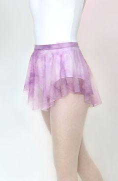Royall Dancewear purple tie-dye mesh ballet skirt | SAB skirt | dance