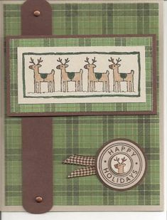 Christmas 2008 by blackbirdcreations - Cards and Paper Crafts at Splitcoaststampers
