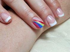 Acrylic Polish Shellac Nail Art | Nail Art Ideas