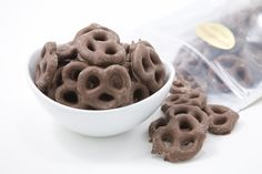 Chocolate covered pretzels are perfect for satisfying that salty-sweet craving.
