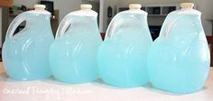 homemade laundry detergent  without all the grating and cooking  (use for cold water washables)