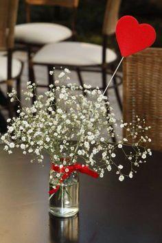 Florero para mesas del comedor