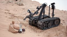 Long Distance Tele-Operation technology will allow UGVs such as the TALON robot to be controlled from ...