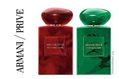 Perfume and fragrance release news, Giorgio Armani Prive Malachite Fragrance Collection! Armani Prive, Giorgio Armani, Packaging, Smell Good, Malachite, Cologne, Perfume Bottles, Fragrances, Curly Hair