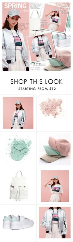"""YesStyle Polyvore Group "" Show us your YesStyle """" by pokadoll ❤ liked on Polyvore featuring chuu, Bare Escentuals, Mansur Gavriel, adidas, Spring, contest and yesstyle"