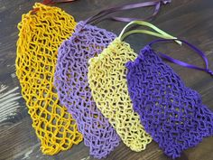 Stick O, Diy Crochet, Crochet Bags, Crochet Projects, Loom, Diy And Crafts, Crochet Earrings, Knitting, Creative