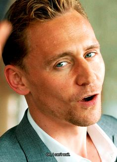 Oh, I can't wait Tom Hiddleston Tom Hiddleston Loki, Thomas William Hiddleston, Toms, Tall Guys, Tall Man, Avengers, Bad Boy, The Villain, Chris Hemsworth
