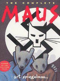 Maus - Art Spiegelman graphic novel story of the Holocaust. Maus Art Spiegelman, New York Times, Frank Kafka, Comic Cover, Books To Read, My Books, Tom Y Jerry, Bd Comics, Books For Boys