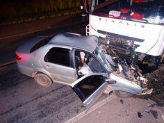 #News  Grave acidente entre carro e caminhão deixa vítima fatal próximo a Miradouro, MG