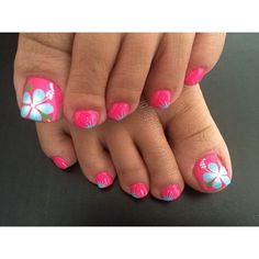 """""""Toes knows flower power """" Photo taken by @professionalnailss on Instagram, pinned via the InstaPin iOS App! http://www.instapinapp.com (03/29/2015)"""