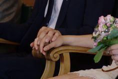 Hands, wedding
